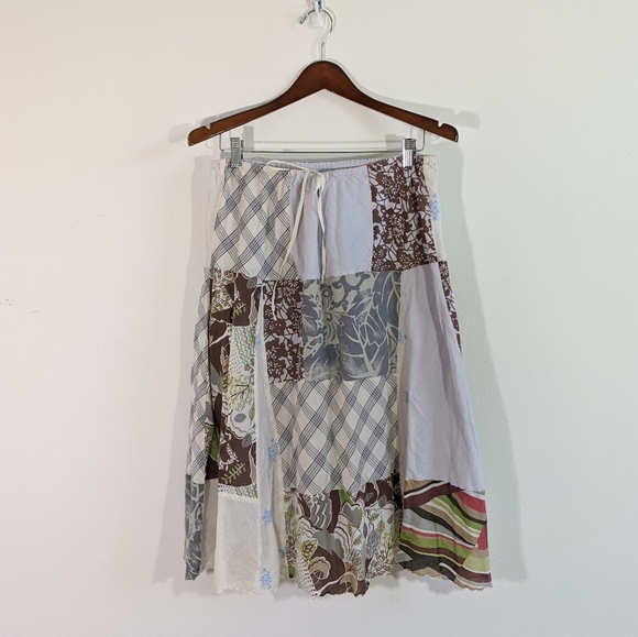 American Eagle Outfitters Dresses & Skirts - American Eagle Outfitters Patchwork Cotton Skirt